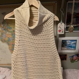 Cowl neck free people sweater